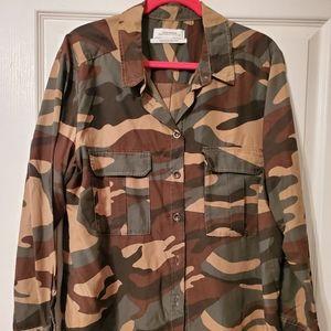 ZARA Camouflage Shirt